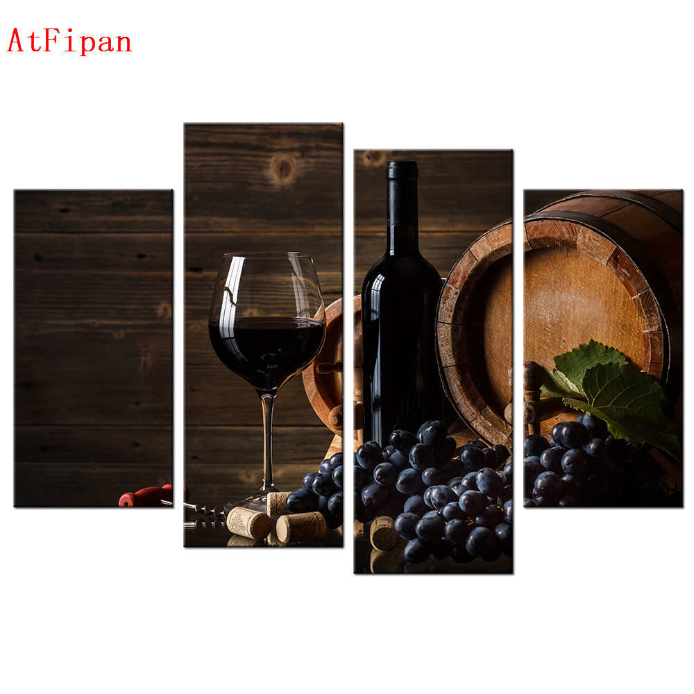 Wine Barrel Wall Decor popular wine and grapes wall art-buy cheap wine and grapes wall