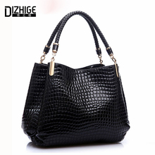 Famous Designer Brand Bags Women Leather Handbags 2016 Luxury Ladies Hand Bags Purse Fashion Shoulder Bags Bolsa Sac Crocodile