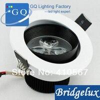 Il trasporto libero 1 W 3 W 5 W 7 W 9 W 12 W 15 W 18 W led soffitto luce, downlight anti-abbagliamento lampada LED spot light AC85 ~ 265 V