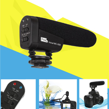 PIXEL 550 Voical MC-550 on-Camera Professional Recording Microphone Interview Camcorder Photo Video DV For DSLR Camera mike MIC
