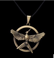 Hot Movie Hunger Games Necklace America and Europe Popular Pendant Necklace Christmas Gifts