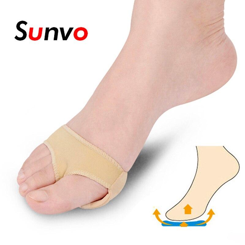 Sunvo רפואי קדמת כף הרגל רפידות שרוול לבוהן Valgus תירס כאב יבלות פיקה כאב הקלה כף הרגל רגל טיפול כרית מוסיף