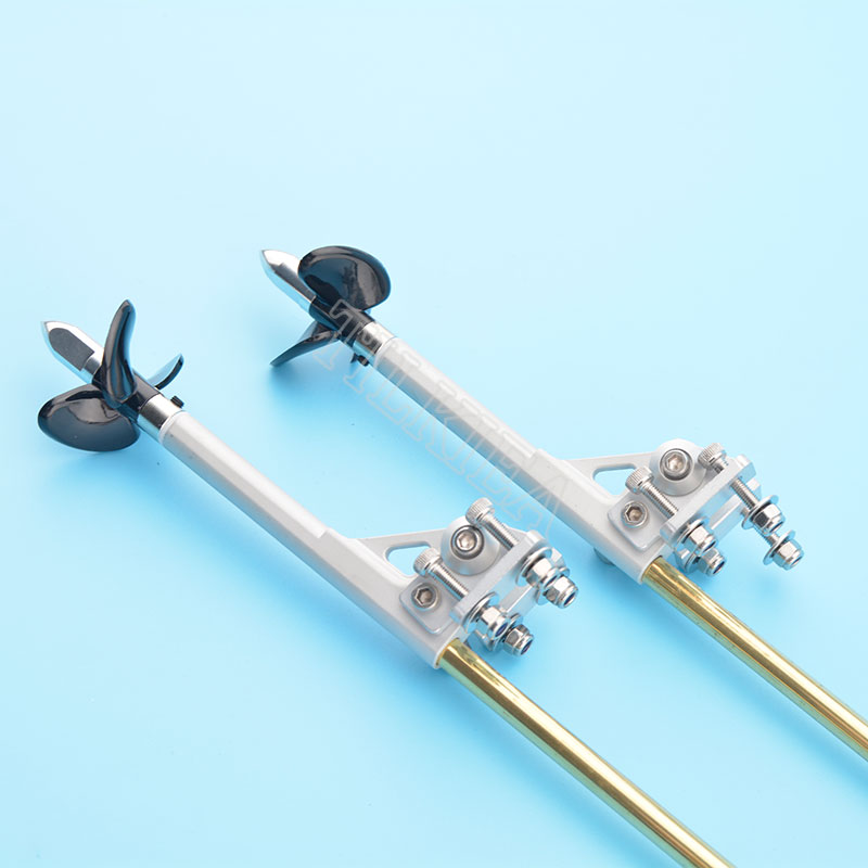 4mm left /& right totation flex cable shaft with drive dog prop nut for rc boat