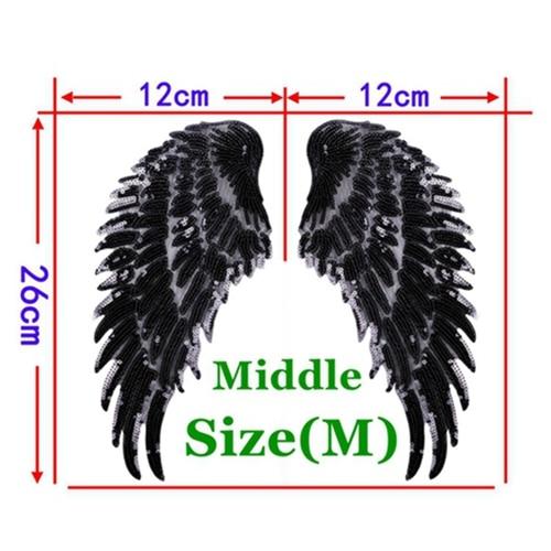 1 Pair Black Middle