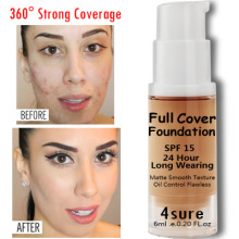 TREEINSIDE 2704 Liquid Foundation 24-Hour Full Coverage can do dropship blind dropshipping with your brand on
