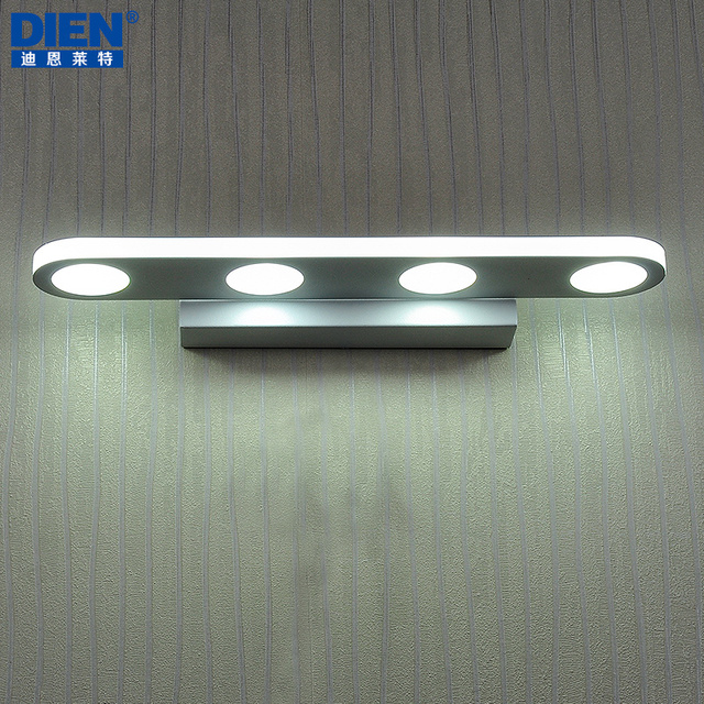 Simple modern IKEA LED mirror lights wall lights bathroom mirror ...