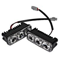 1 Pair High Quality Daytime Running Lights LED Car DRL DC 12V Car Styling Light Source