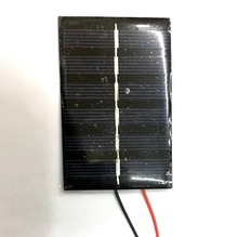 Mini Epoxy solar panel cell solar module 0.5W 3V 180mA 85*55mm with cable FOR teaching experiment DIY