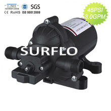 SURFLO KDP-3312 DC 12V electric high pressure deck wash down pump 11.5L/min 45psi CE RoHS complied for Marine RV Agriculture