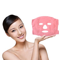 Tourmaline Magnetic Face Mask Anti Wrinkle Face Massager Heating Pad Facial Patch Skin Care Tools Relaxation