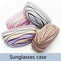 Envío gratis lentes de colores para ojos de sol gafas de sol polarizadas caja de los vidrios vidrios duros Protector envío gratuito