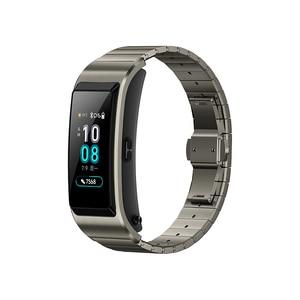 Image 5 - Original Huawei TalkBand B5 Talk Band B5 Bluetooth Smart Bracelet Sports Wristbands Touch AMOLED Screen Call Earphone Band