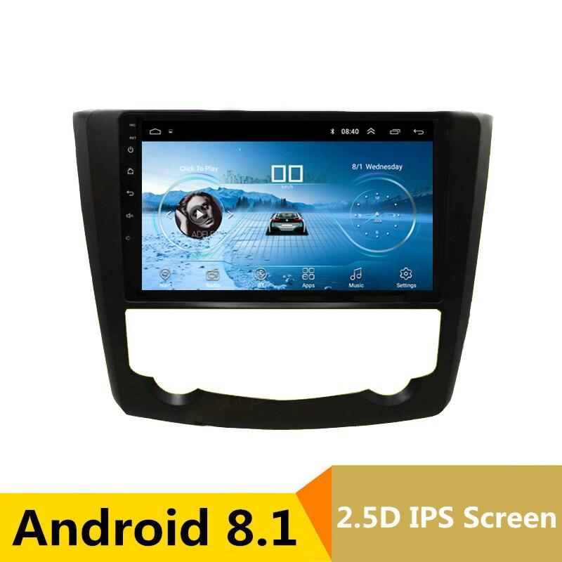 9 2.5D IPS Android 8.1 Car DVD Multimedia Player GPS For Renault Kadjar 2015 2016 2017 audio car radio stereo navigation WIFI