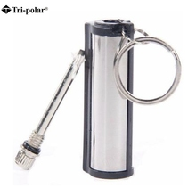 check price Tri-polar Outdoor Emergency Fire Starter Flint Match Lighter Metal Outdoor Camping Hiking Instant Survival Tool Safety No fuel Sale Best Quality