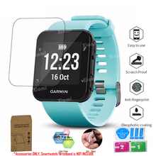 10Pcs/Lot(5Films+5Wipes)For Smart Watch Garmin Forerunner 35 F35 Screen Protector Tempered Glass TPU Protective Film-/ 10pcs for garmin vivoactive 3 tempered glass protective film smart watch screen protector screen protector for vivoactive 3