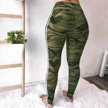 Woman Pants Sporting Legging Casual Slim Sexy Camouflage Pants Trousers Elastic High Waist Female Camo Pants Pencil Legging