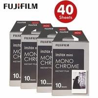 Новый Fujifilm Instax Mini 8 Плёнки монохромный 40 листов для Mini 300 7 s 50 s 50i 90 25 поделиться SP-1 Моментальное фото Камера