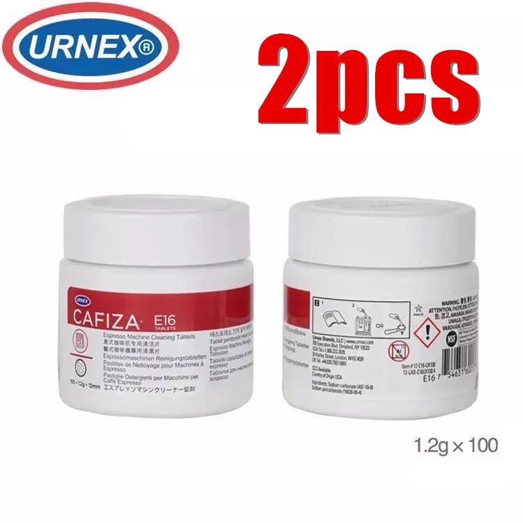 2pcs New Urnex Cafiza Espresso Machine Cleaning Tablets, Pack Of 100 X 1.2g