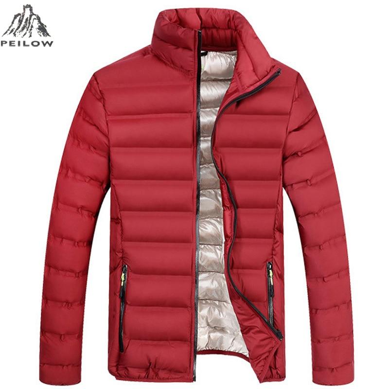 Peilow New 2018 Men Jacket Autumn Winter High Quality Men Fashion