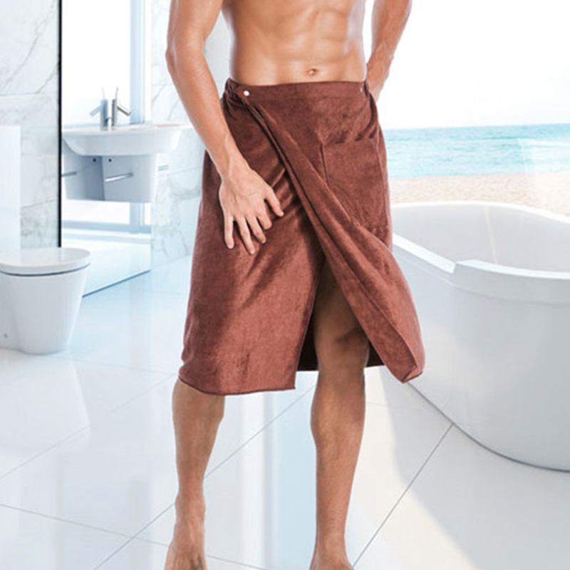 Fashion Man Wearable Microfiber Bath and Beach Towel 1