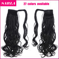 1PC Natural Hair Ponytail Extension Heat Resistant Long Curly Wave Wrap Around Clip-in Ponytails Synthetic Hair Extension  P002