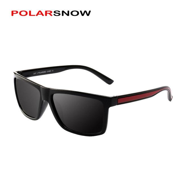 a6527f3448 POLARSNOW TR90 Sunglasses Men Polarized Brand Designer Points Women Men  Vintage Eyewear Driving Sun Glasses