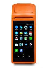 JP-V1 Android 3G pos système 5.5 pouce affichage Mobile De Poche Smart POS Terminal avec Imprimante pour supermarché/restaurant/cinéma