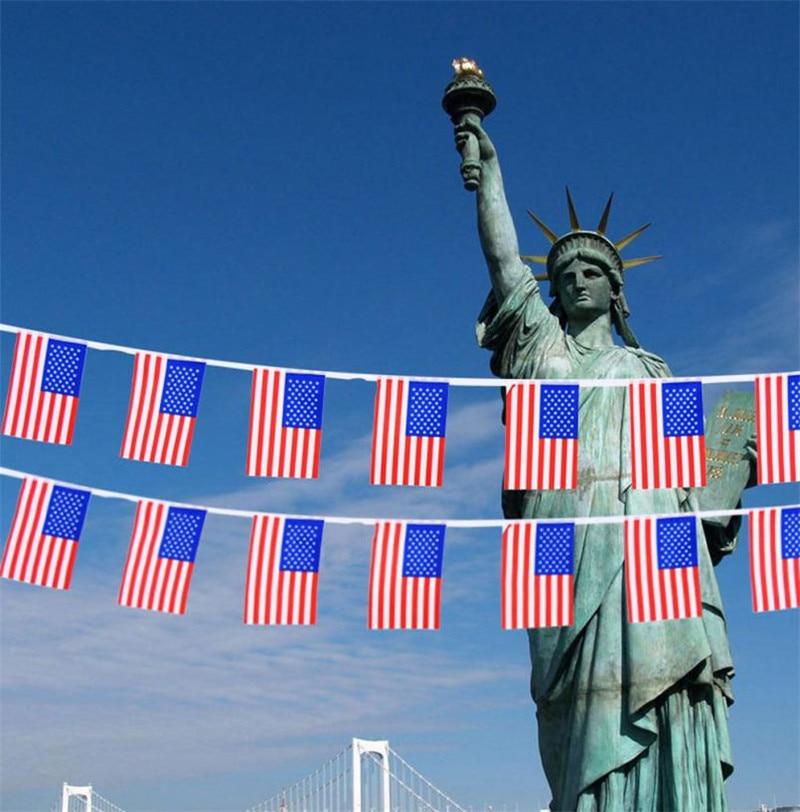 longitud cm unids cadena de amrica eeuu bandera bunting banderas bandera