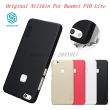 Huawei P10 Lite Case Nillkin Frosted Shield Hard PC Back Cover Huawei P10 Lite Gift Screen Protector