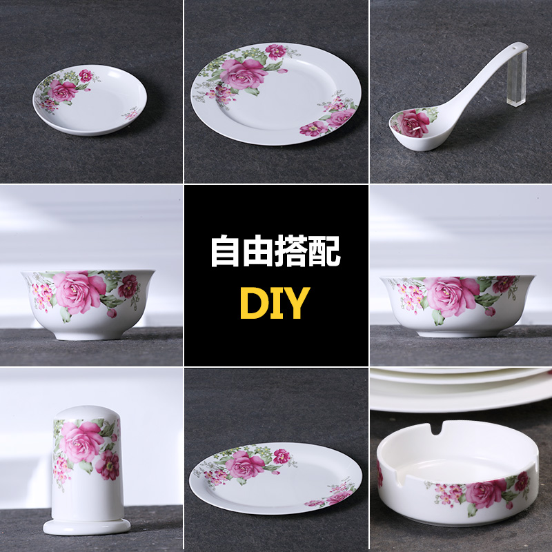 Ceramic bowl bowl dish dish steamed rice household chinese family meal bowl large bowl 6 inch - Six alternative uses of rice at home ...