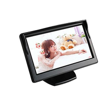 5″ HD 800*480 Car TFT LCD Monitor Screen with 2ch Video for Car Rearview Backup Cameras/Car DVD/VCD/GPS/other Video Equipment
