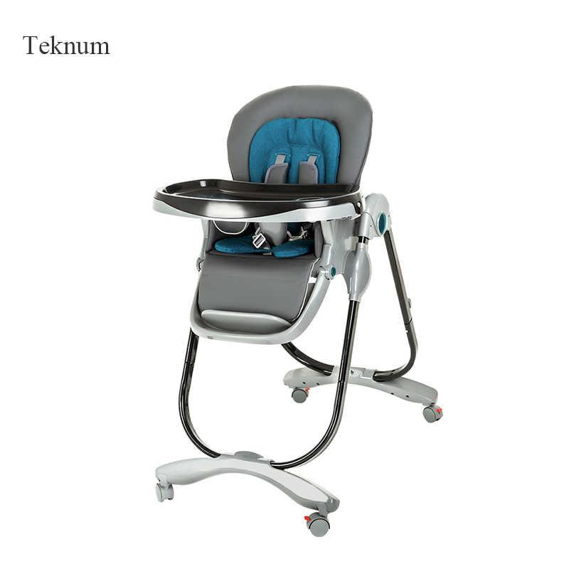 TEKNUM столик для кормления малыша складной многоцелевой портативный детский стул ребенок едят обеденный стол и стул