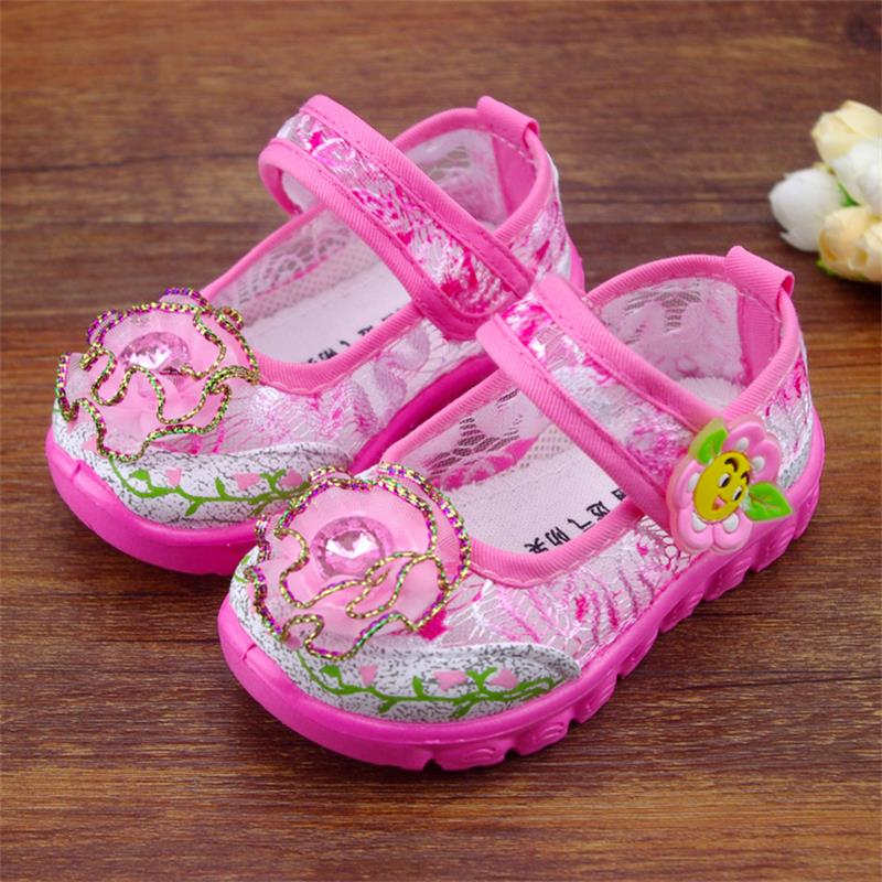 Summer Clearance Sale Baby Girls Shoes cute Korean style breathable children shoes square opening princess kids