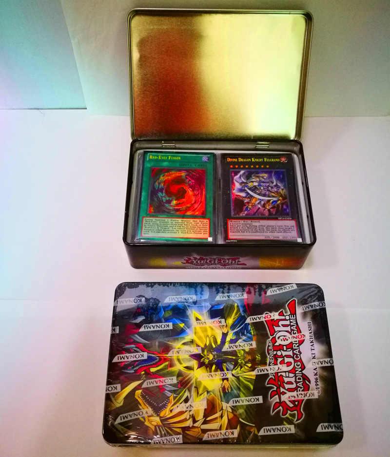 60 шт. Япония Yu Gi Oh игры Игральные карты с коробкой коробки игра юджиох карты Япония мальчик девочки Yu-Gi-Oh карты коллекция для забавной игрушки