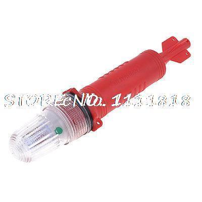 Red Plastic Rocket Shape Fishing Fishman Fishnet Signal LED LIght scrappy rocket rtf