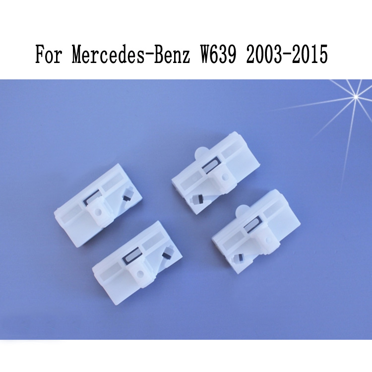 CLIPS FOR MERCEDES BENZ VITO VIANO W639 WINDOW REGULATOR REPAIR KIT REAR RIGHT and LEFT2003-2015  OE 6397200446, 6397200046