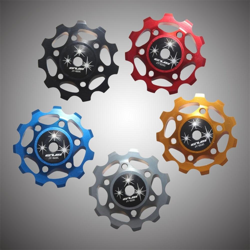 Цена за Переключатель велосипеда GUB Анодированный ЧПУ Керамические Запечатанных Подшипник Опорное Колесо 11 Т для Shimano SRAM SS
