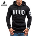Moleton Masculino 2016 Slim Hoodies Men Sweatshirt Long Sleeve Pullover Hooded Sportswear Men'S Letters Printed Tracksuit XXL