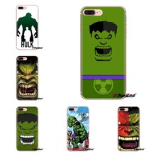 Silicone Shell Case Comics marvel Superhero Hulk For Sony Xperia Z Z1 Z2 Z3 Z5 compact M2 M4 M5 C4 E3 T3 XA Huawei Mate 7 8 Y3II(China)