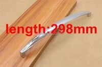 Высокое качество Большой Размеры шкаф ручки современный сплав шкаф длинными ручками Мебель ручки
