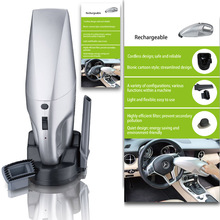 Car Wireless vacuum cleaner 50W rechargeable handheld vacuum cleaner car auto supplies car cleaners