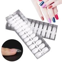 12 Sizes 288 pcs Fake Nails Transparent Art