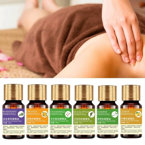 100% Pure Essential Oils For Aromatherapy Diffusers Natural Essential Oil Skin Care Lift Skin Plant Fragrance Oil Massage Oil Lahore