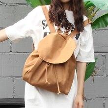 Новый литературы и Книги по искусству холщовый мешок wemen рюкзак Японии и корейский стиль простой Джокер саквояж модные нанизывая рюкзак