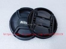 100 cái Camera Lens Cap bìa 49 mét 52 mét 55 mét 58 mét 62 mét 67 mét 72 mét 77 mét 82 mét LOGO Cho Nikon (Xin Vui Lòng lưu ý kích thước)
