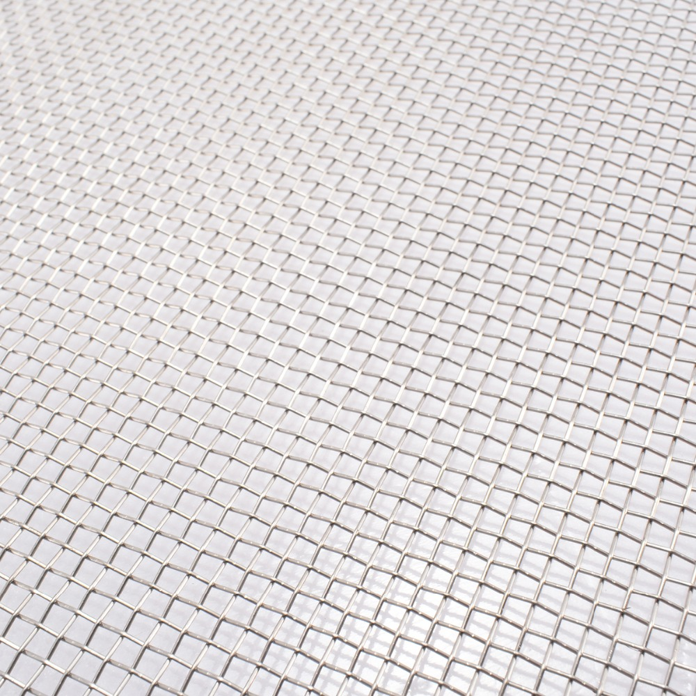 Mayitr 1pc New 304 Stainless Steel Mesh #8 .035 Wire Cloth Screen 30cmx60cm For Food Machinery Nets