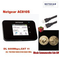 Unlocked Netger AC810S Cat11 600mbps 4g Wifi Router 4g Wifi Dongle Lte Wireless Aircard 810S 4G
