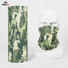 Motorcycle Camouflage Face Mask Sweat-absorbent Outdoor Magic Army Military Tactical Airsoft Headscarf Windproof Mask Balaclava