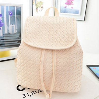 Knitted Backpack Patterns 2015 New PU Leather Designer Book Bag ...