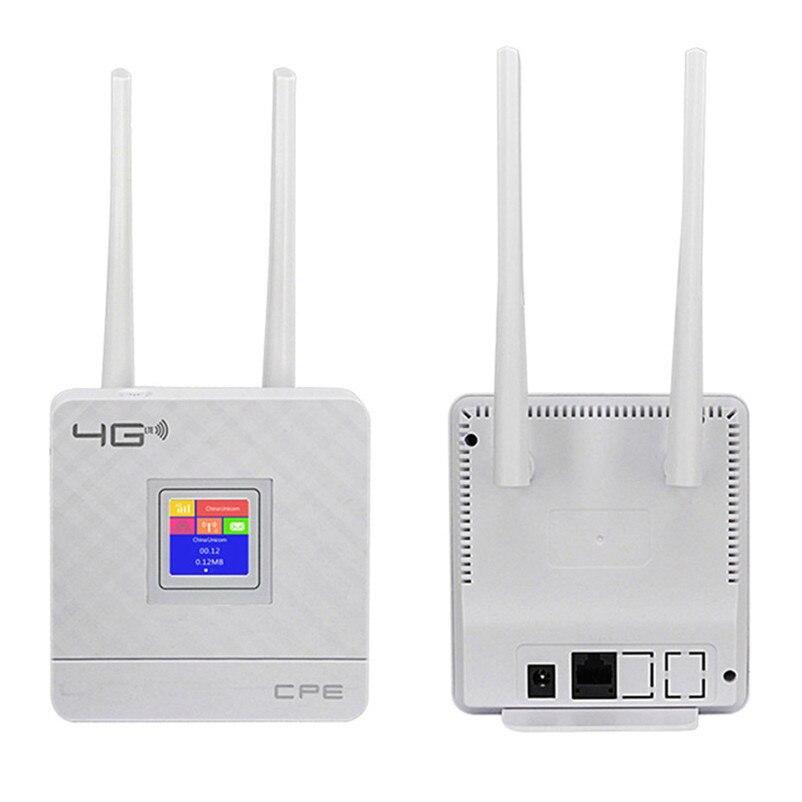 Best Offer #973e TIANJIE RJ45 WANLAN Router 4G WIFI LTE